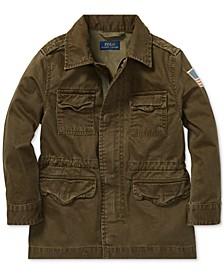 Little Boys Cotton Herringbone Jacket