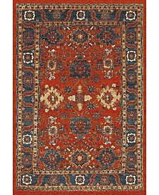 Safavieh Vintage Hamadan Orange and Blue 4' x 6' Area Rug