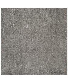 "Safavieh Polar Silver 6'7"" x 6'7"" Square Area Rug"