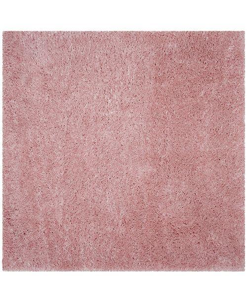 "Safavieh Polar Light Pink 6'7"" x 6'7"" Square Area Rug"