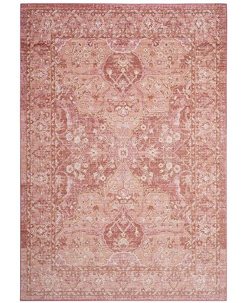 Safavieh Windsor Rose and Red 3' x 12' Area Rug