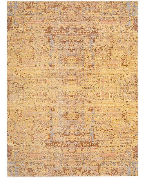 Safavieh Mystique Gold and Multi 8' x 10' Area Rug