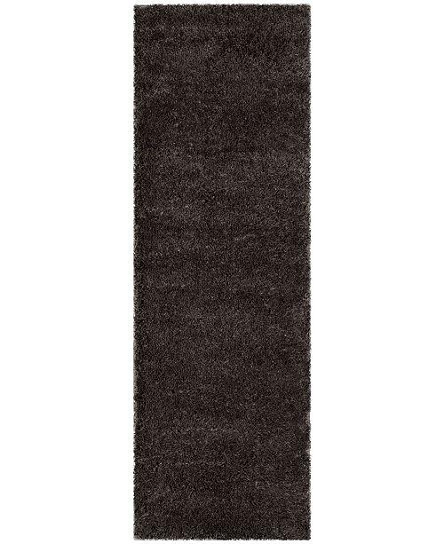 "Safavieh Indie Dark Grey 2'3"" x 7' Runner Area Rug"