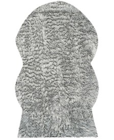 Safavieh Faux Sheep Skin Light Gray 5' X 8' Area Rug