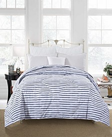 Soft Cover Nano Feather Comforter Twin stripe