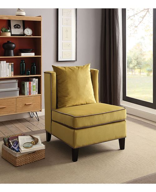 Pleasing Ozella Accent Chair Gmtry Best Dining Table And Chair Ideas Images Gmtryco