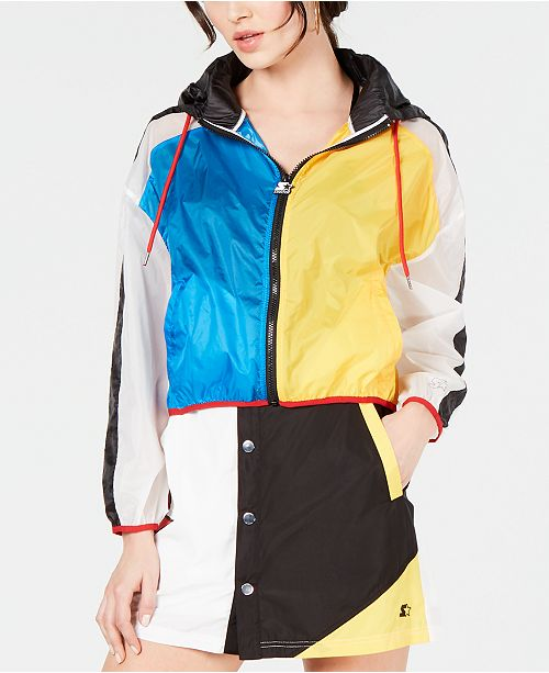Starter Colorblocked Semi-Sheer Jacket
