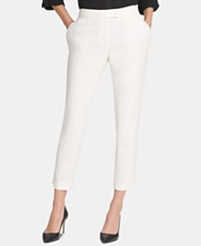 DKNY Foundation Slim Ankle Pants