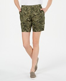 Style & Co Printed Cargo Shorts, Created for Macy's