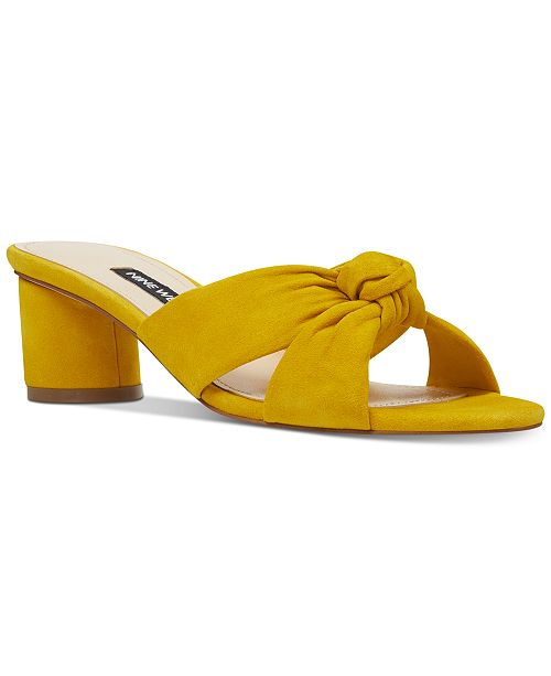 Nine West Kayla Knotted Dress Sandals
