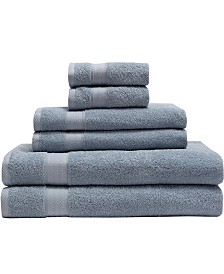 Elite Home 6-Pc. Luxury Absorbent Towel Set