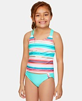 67c6c0c7a2a49 Summer Crush Big Girls 2-Pc. Striped Tankini Set
