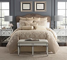 Abrielle Champagne Bedding Collection