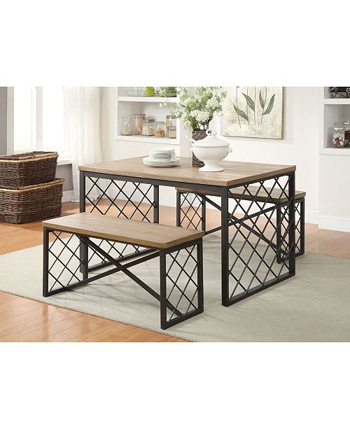 Acme Furniture Catalina 3-Piece Dining Set