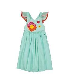Masala Baby Girls Diya Dress Flower