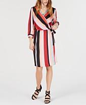 1b1c30393fa997 Wrap Dress Dresses for Women - Macy s