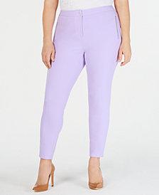 Calvin Klein Plus Size Scuba Crepe Pants