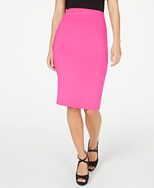 Thalia Sodi Zipper Pencil Skirt, Created for Macy's