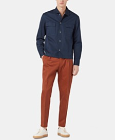 BOSS Men's Nolan Relaxed-Fit Cotton Shirt