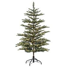 International 4.5 ft. Pre-lit Arctic Fir Artificial Christmas Tree 250 UL listed Clear Lights