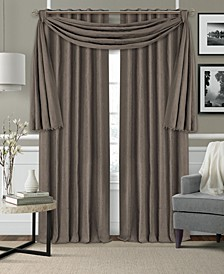 "Leila Matelasse 52""x95"" Blackout Window Curtain"