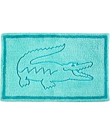 "Lacoste Legend Cotton 20"" x 32"" Bath Rug"