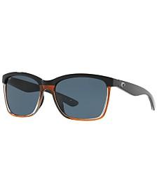 Costa Del Mar Polarized Sunglasses, CDM ANAA 55
