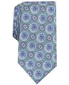 Tasso Elba Men's Hayes Classic Medallion Tie, Created for Macy's
