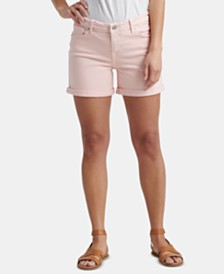 Lucky Brand Ava Cuffed 5-Pocket Shorts
