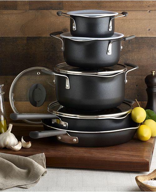 T-Fal Stackables 10-Pc. Titanium Non-Stick Cookware Set