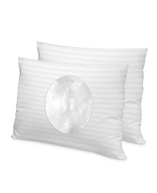 SensorPEDIC 500 Thread Count Tencel Fiber Jumbo Pillow 2-Pack