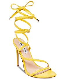 Steve Madden Women's Amberlyn Tie-Up Dress Sandals