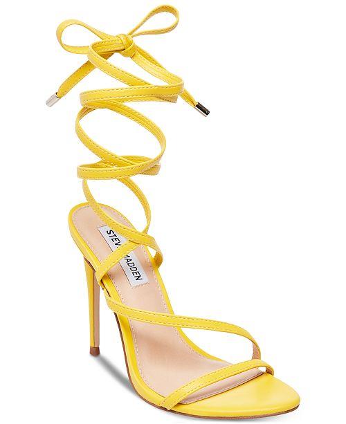 Steve Madden Women's Amberlyn Tie-Up Dress Sandals