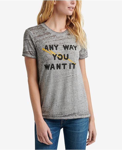 Lucky Brand Journey Graphic Band T-Shirt