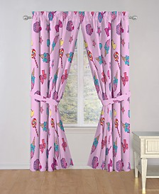 "Nickelodeon JoJo Siwa Dream Believe 84"" Drapes"