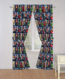 "Marvel Avengers Marvel Team 63"" Drapes"