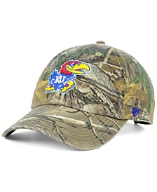 '47 Brand Kansas Jayhawks Real Tree CLEAN UP Cap