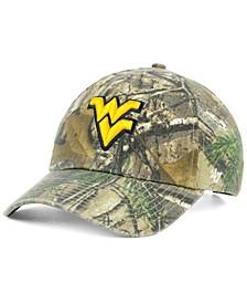 West Virginia Mountaineers Real Tree CLEAN UP Cap
