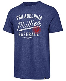 '47 Brand Men's Philadelphia Phillies Grandstand Triblend T-Shirt