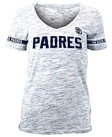 Women's San Diego Padres Space Dye T-Shirt