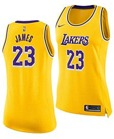 Women's LeBron James Los Angeles Lakers Icon Swingman Jersey