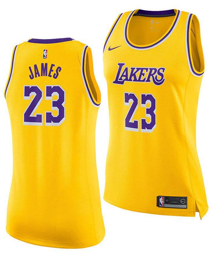 Nike Women's LeBron James Los Angeles Lakers Icon Swingman ...