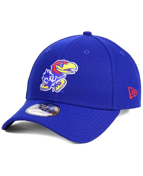 New Era Kansas Jayhawks League 9FORTY Adjustable Cap