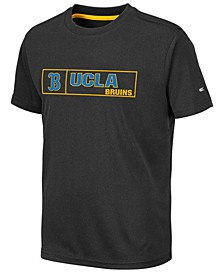 Big Boys UCLA Bruins Boxed Logo Polyester T-Shirt
