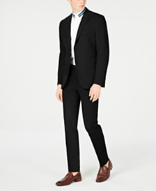 Calvin Klein Men's Slim-Fit Stretch Washable Suit Separates