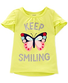Carter's Toddler Girls Butterfly-Print T-Shirt