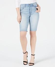 Kendall + Kylie Cutoff Bermuda Shorts