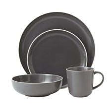 Royal Doulton Exclusively for Gordon Ramsay Bread Street Slate 4-Piece Place Setting