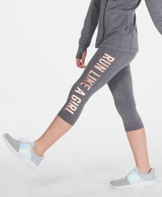 Big Girls Run-Print Capris, Created for Macy's