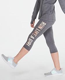 Ideology Big Girls Run-Print Capris, Created for Macy's
